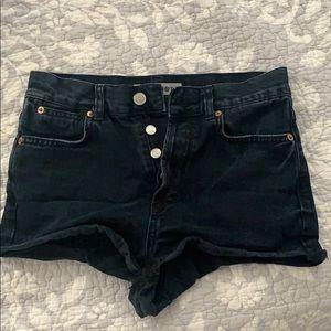 Topshop moto shorts